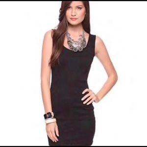 Forever 21 black mini dress